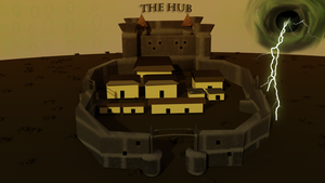 The Hub: 3D Map by sorrowscall