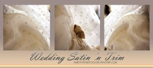 Wedding Satin n Trim by amethystmstock