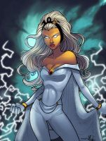 Storm colored by mennyo by JamieFayX