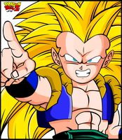Gotenks Color by Sauron88