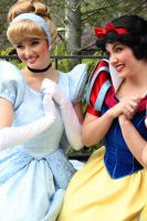 Cinderella and Snow White by DisneyLizzi