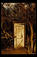 Door to the Forest by Forestina-Fotos