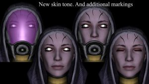 Tali Face mod - Merged textures by SlipperyHammer