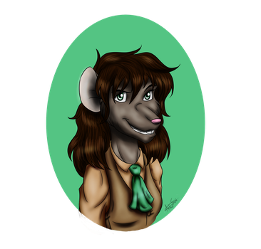 Commission: Abigail Moss by ALS123