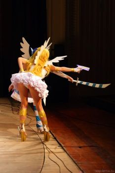 Panty and Stocking on stage by Torchilina