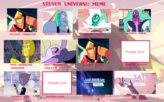 Steven Universe Controversy Meme by Sugared-Almond