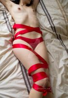 Red Ribbon by girlwiththepiercings