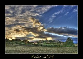 Palata sunset by laino