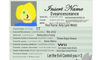 My official Deviantart ID by eveancesceance