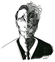 Two-Face by monkette