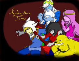 Do YOU Know What Time It Is? Adventure Time FA by SageStrike2