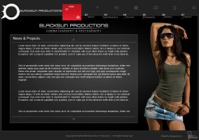 Blacksun Flash Website by saltshaker911