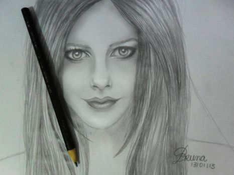 First try drawing face x_x! by Brunaranha