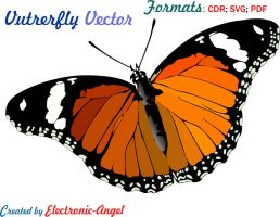 Butterfly vector by Electronic-Angel