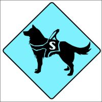 Service Dog Sign by iixRainexii
