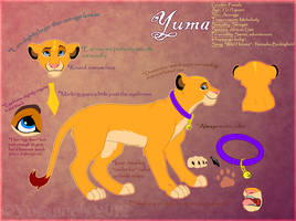Yuma's Official Reference by Ghostcub