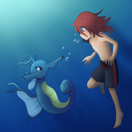 Diving with my Lady by Eifi--Copper