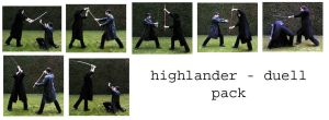 highlander duell pack by syccas-stock