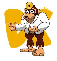 Doctor Donkey Kong by StrongSeanMann