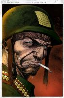Sgt Rock by RossHughes