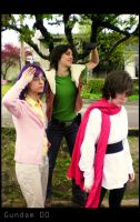 Gundam 00 Cosplay - Pilots by faore