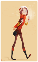 Miss Automn by tshipbd