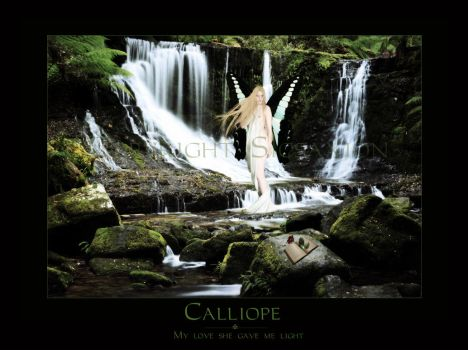 Calliope - Comission by Sicsaxion-