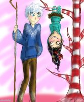 Jack and Vanellope by HezuNeutral