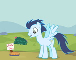Soarin and his pie by thecoltalition