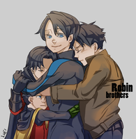 Robin brothers by guisxxxx