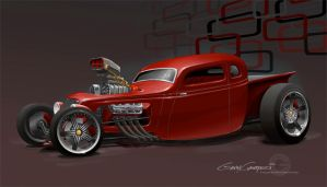 34 Sedan-pickup by GaryCampesi