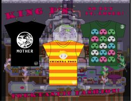 Mother 3 Shirt Designs by blacklilly5150