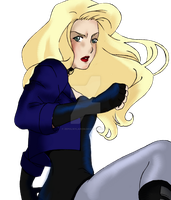 Young Justice: Black Canary by zepolnylarom