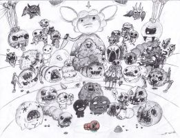The Binding of Isaac  [ALL BOSSES] by jaego17
