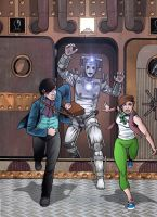 Steampunk Cyberman by MikeMcelwee