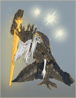 Lorian, elder prince Lothric, young prince by MrParanoidXXX