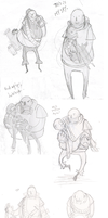 This is my spy - Doodles by Jaffre