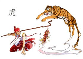 Tiger Year '10 by lushan
