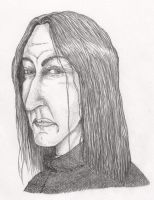 Severus Snape by shadowycat