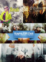 Graphic PSD Pack by Debora by lisbethsalanders