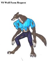 Request-V8 Wolf Form by SpudYeisleyCreations