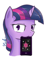 Twilight phone by HankOfficer