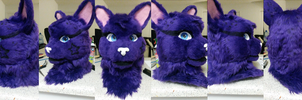 Skitch Toony Fursuit Head by TerraFurs