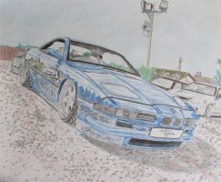 Bagged BMW 8-Series (E31) by JordanDymock