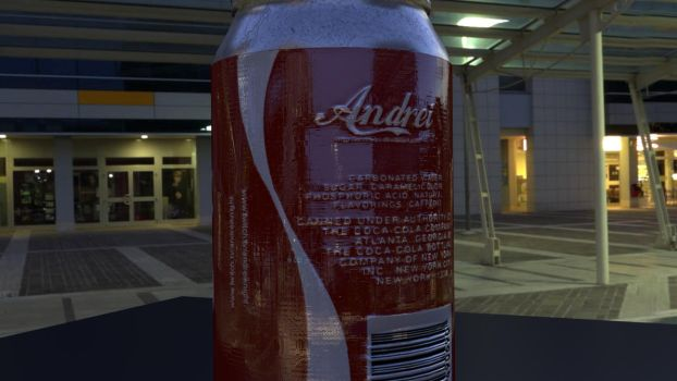Coke Can by andreizv