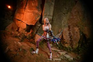 Serah Farron : The Road That Lies Beyond by Tiburonsama