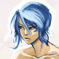 bluehair by doven