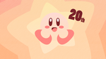 Kirby 20th Anniversary by Krukmeister