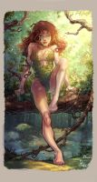Poison Ivy by Tom Raney Colors by GiuliaPriori