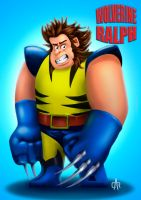 Wolverine Ralph by marmo98